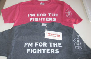 I'm for the fighters t-shirts