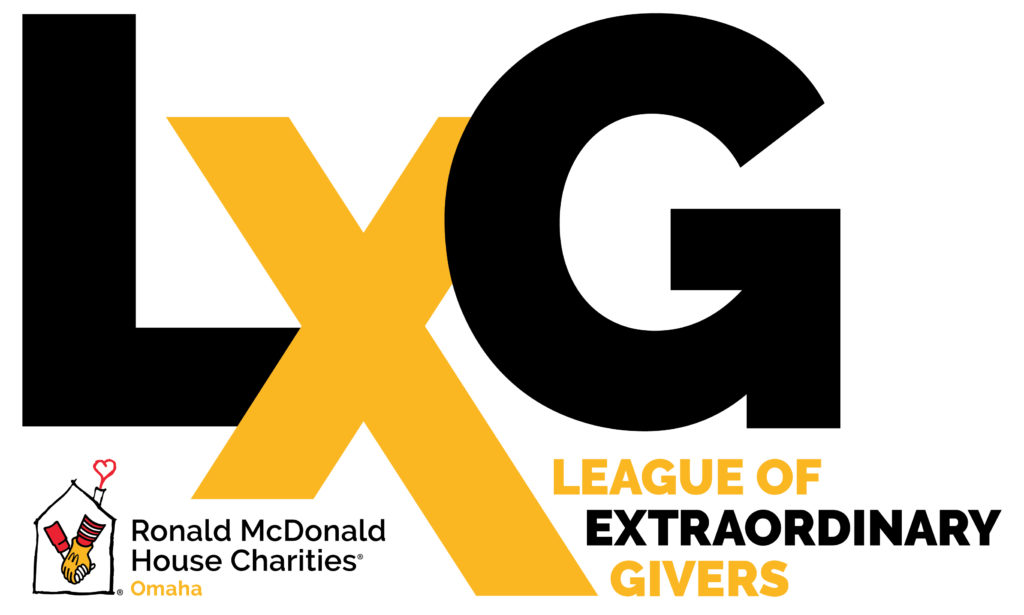 Logo for the League of Extraordinary Givers